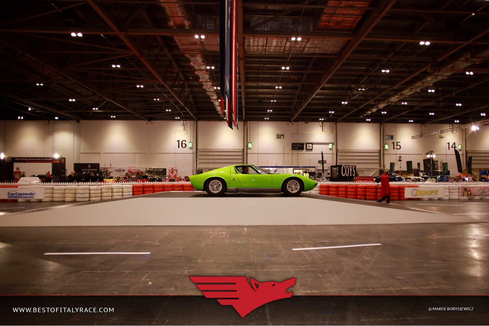 The london classic car show best of italy festival - Best shows to see in london ...